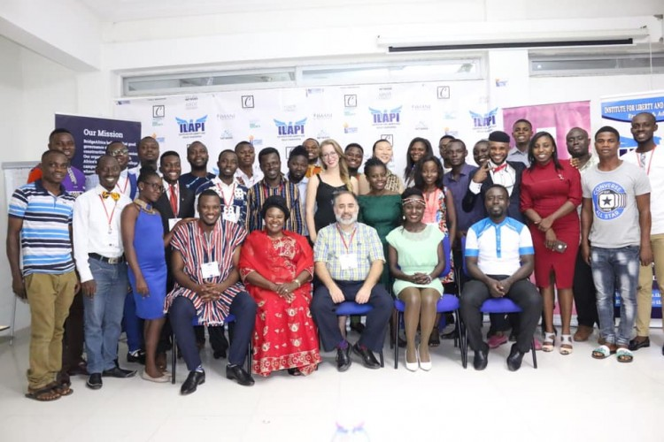 25 Journalists Trained In Ghana On Public Policy And Liberal Economics | Lydia Adzag - bil